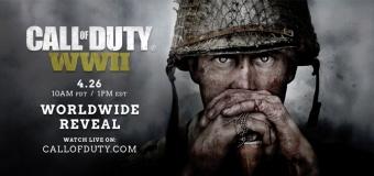 Call of Duty ปีนี้คือภาคสงครามโลกครั้งที่ 2!! คลิปจะออกวันที่ 26 เม.ย. นี้
