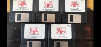 แฟนเกมร่วมประมูลแผ่น Floppy disks เกม DOOM 2 ราคาทะลุแสนบาท
