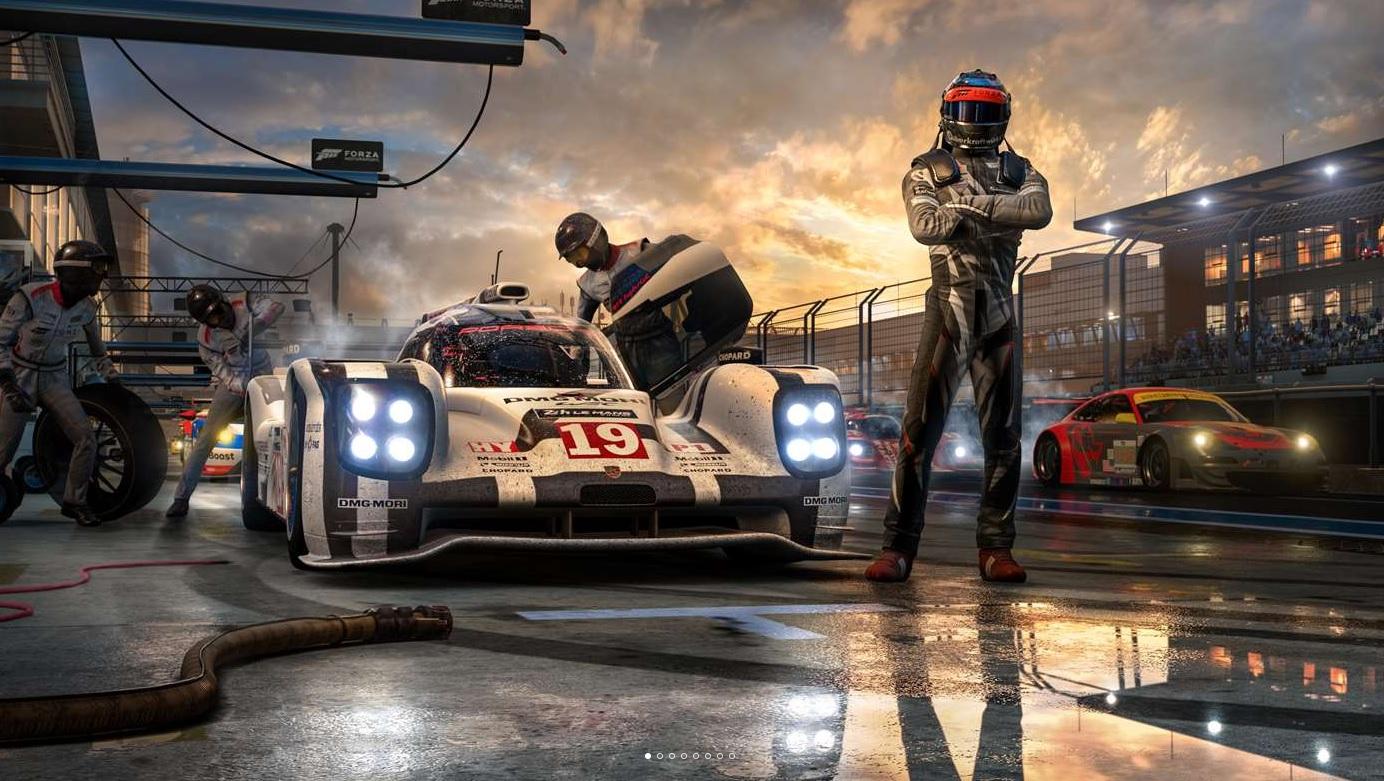Forza Motorsport 7 อาจจะมีตัวเกมรวมน้อยกว่า 100 GB หน่อย