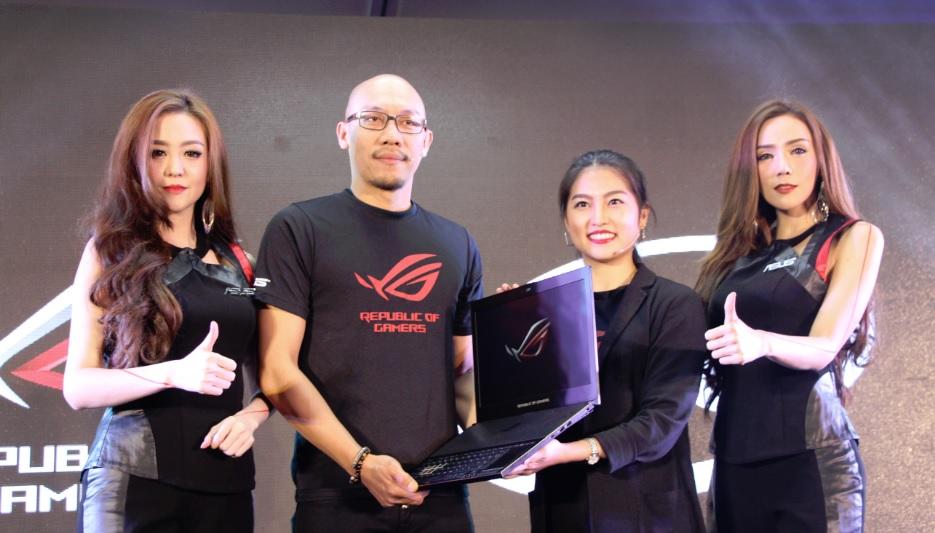 ASUS แถลงข่าวเปิดตัว แล็ปท็อปเกมมิ่งบางที่สุดในโลก ROG Zephyrus GX501