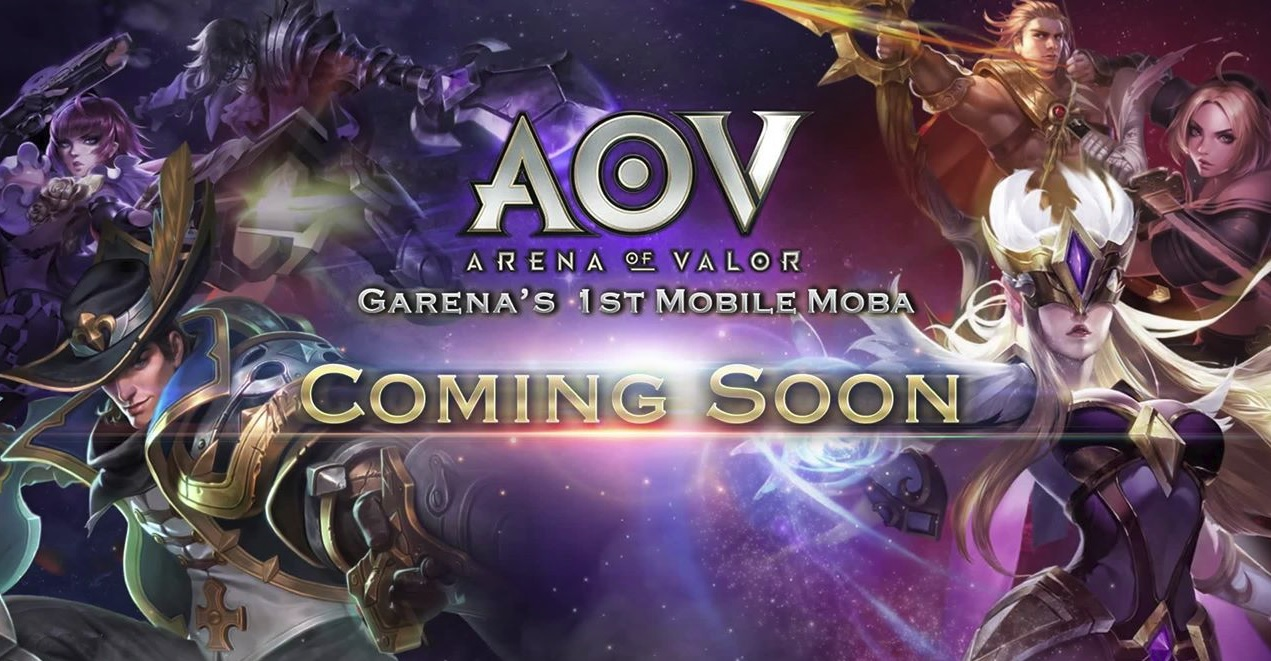 Garena ส่งเกม ROV เซิร์ฟ SEA ในชื่อเกม Arena of Valor