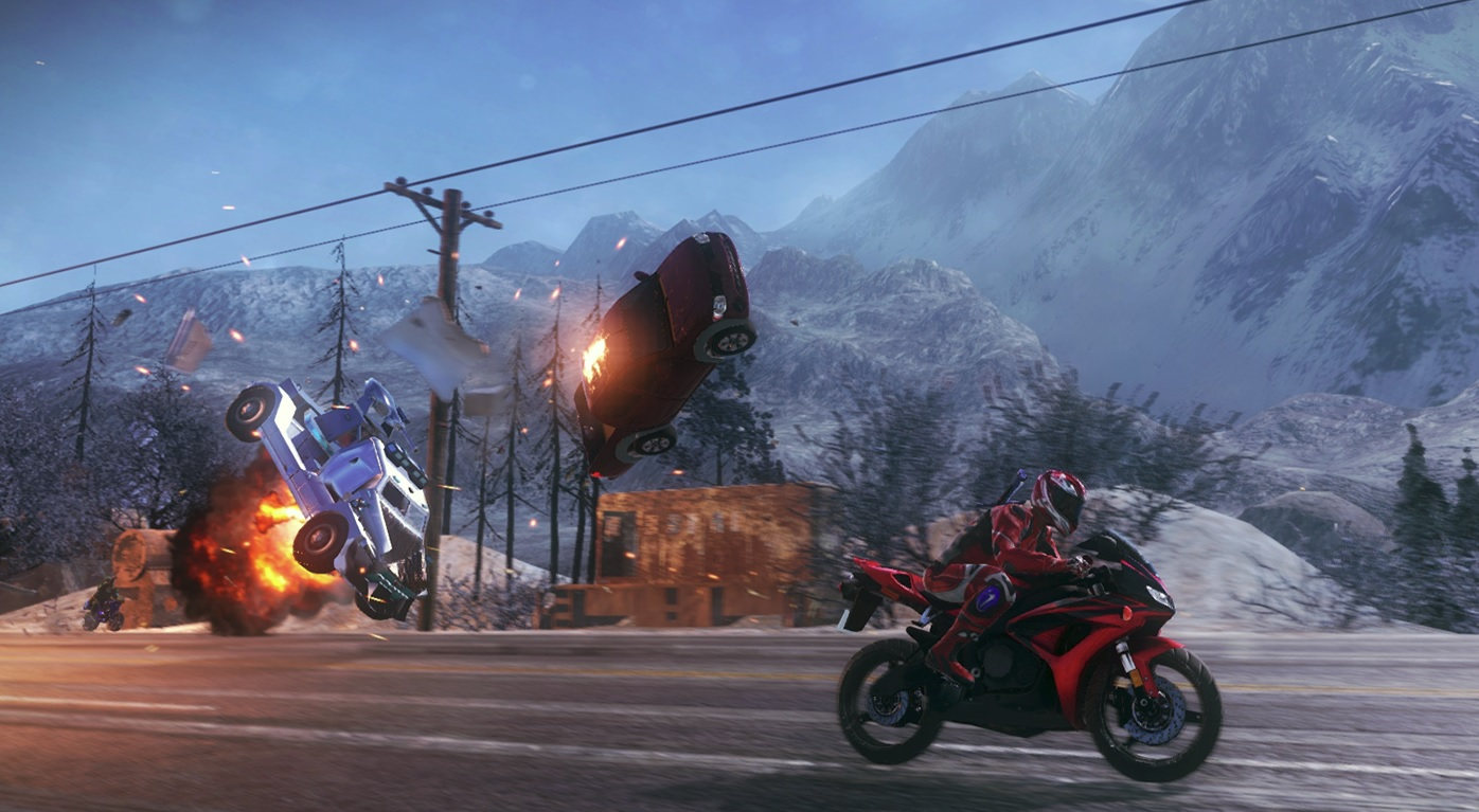 Road Redemption เกมดวลมอเตอร์ไซด์ เปิดขายบน Steam แล้ว