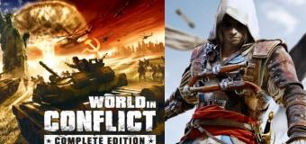 Ubisoft แจก World in Conflict และจะแจก Assassin's Creed IV อาทิตย์หน้า