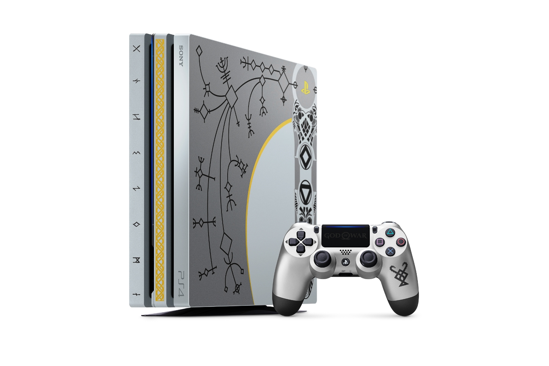 "Sony เผยโฉมเครื่อง PlayStation4 Pro ""God of War Limited Edition"" เตรียมวางขาย เม.ย.นี้"