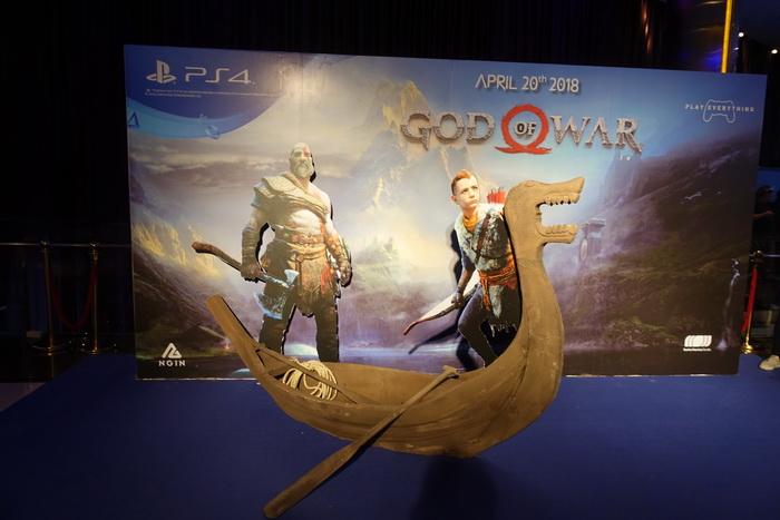 NGIN เปิดตัว God of War 4 ยิ่งใหญ่ เกมเมอร์เข้าร่วมแน่น