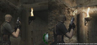 Resident Evil 4 HD project mod พร้อมให้ดาวโหลดเล่นได้แล้ว