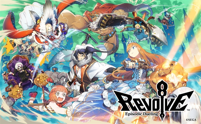 Revolve8 เกมมือถือวางแผนจาก SEGA จะเปิดให้เล่น 17 ม.ค. ปีหน้า