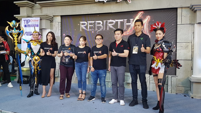 Combo Gaming เปิดตัว Rebirth M อย่างเป็นทางการ เตรียมจัดอีสปอร์ตปลายปีนี้