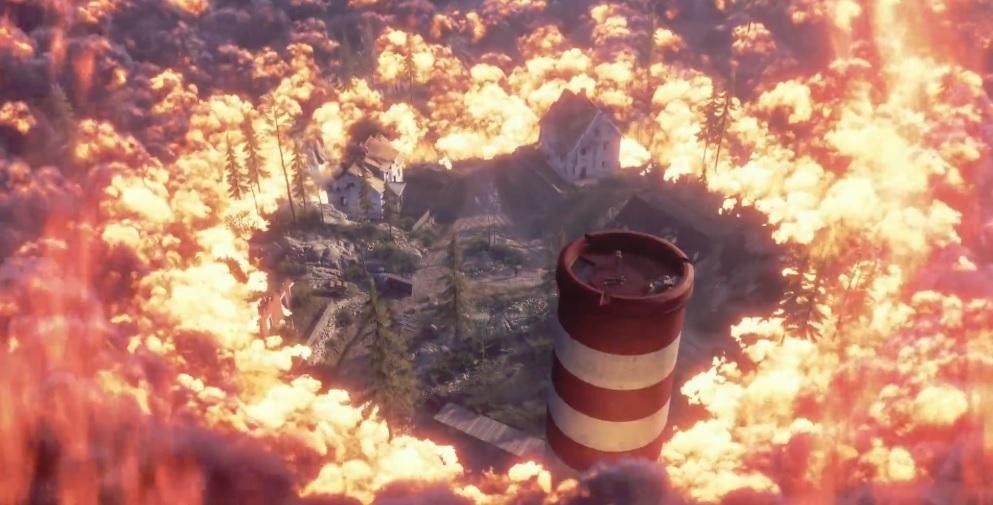 คลิปเกมเพลย์ของ Firestorm โหมด Battle royale เกม Battlefield 5