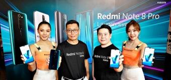 เสียวหมี่ เปิดตัว Redmi Note 8 Series  ยืนหนึ่งผู้นำตลาดสมาร์ทโฟนระดับกลางและอุปกรณ์อัจฉริยะ  ส่งกล้องความละเอียด 64 ล้านพิกเซลลงตลาด
